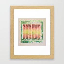 interface zero/five Framed Art Print