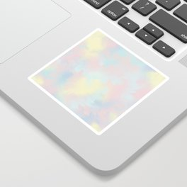 soft tie dye Sticker