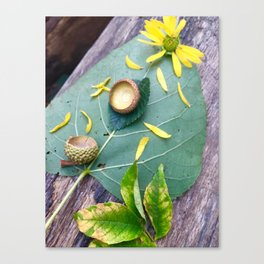 Green Like It or Not Canvas Print