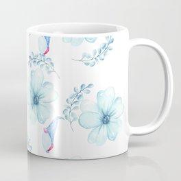 Renaissance Magic Gnome Blue Flowers Coffee Mug