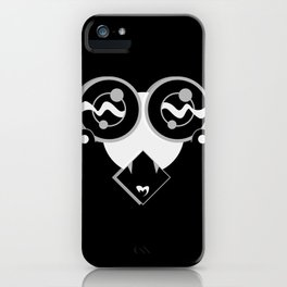 SHY BLACK SiDE ver. (Original Characters Art by AKIRA) iPhone Case