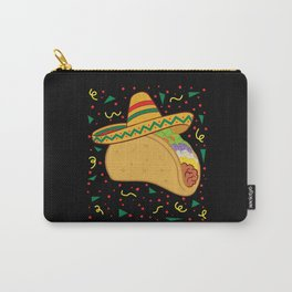 Mexican Taco Cinco De Mayo Taco Nachos Carry-All Pouch
