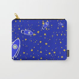 Rocketship to Mars Carry-All Pouch