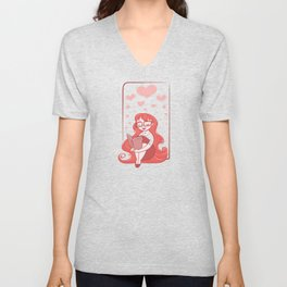 Book Lover Unisex V-Neck