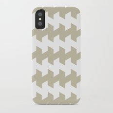 jaggered and staggered in tidal foam iPhone X Slim Case