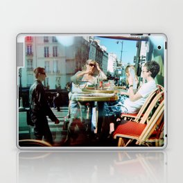 Cafe Arsenal, Paris (Double Exposure) Laptop & iPad Skin