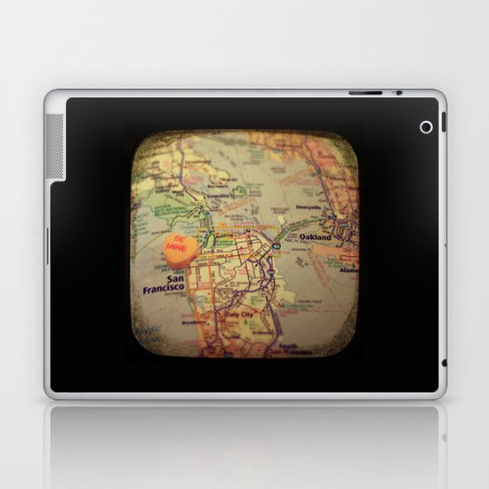 Be Mine San Francisco Laptop & iPad Skin