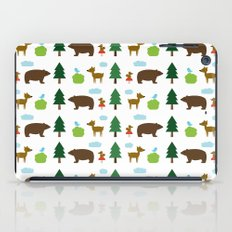 The Essential Patterns of Childhood - Forest iPad Case