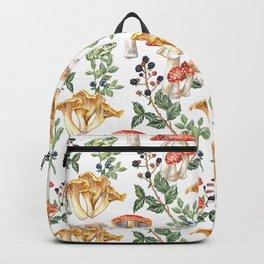 Woodland Mushrooms & Hedgehogs Backpack