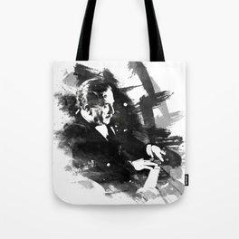 Piano Genius Arrau Tote Bag
