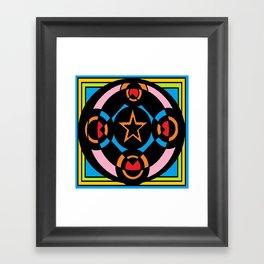 Unique Art Colouring Framed Art Print