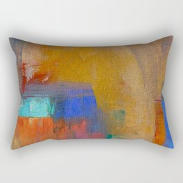 People in India Rectangular Pillow