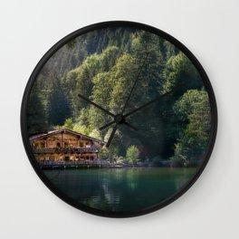 Berglsteinersee Wall Clock