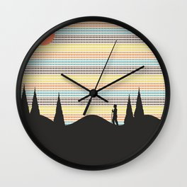 Finding Oneself Wall Clock