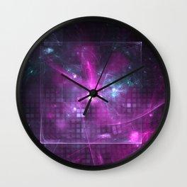 Distant Galaxies Wall Clock
