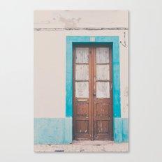 That door of yours Canvas Print