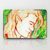 legolas iPad Cases featuring Legolas by AlysIndigo