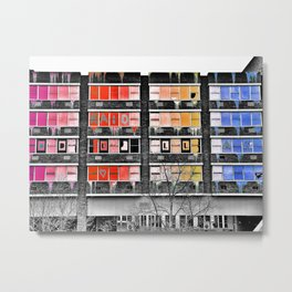 Project in Colour Metal Print