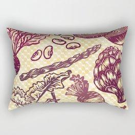 Eat Your Purple Veggies Rectangular Pillow