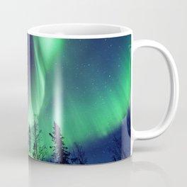 Northern Lights in Yellowknife Coffee Mug