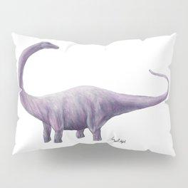Purple Diplodocus Pillow Sham