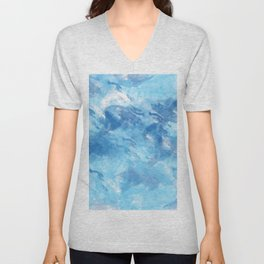 Abstract 43 Unisex V-Neck