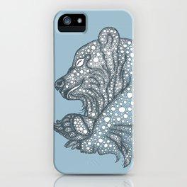 Winter sleep iPhone Case