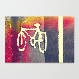 Cycle Path 01A (everyday 29.01.2017) Canvas Print