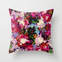 valentina Throw Pillows featuring Valentina by Glanoramay