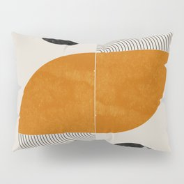 Abstract Geometric Shapes Pillow Sham