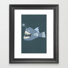 Angler Fish Framed Art Print