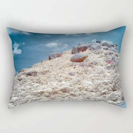 Big Rock Mountain Rectangular Pillow
