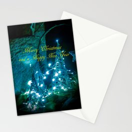 Merry Christmas - Happy New Year 2 Stationery Cards