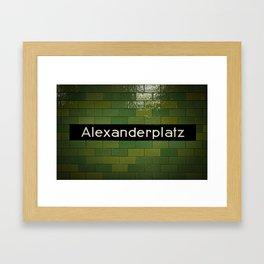 Alex Framed Art Print