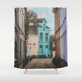 Streets of Belgium Shower Curtain