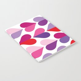 Love and Kisses in Ultra Violet Notebook