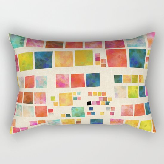 cosmic telegram Rectangular Pillow
