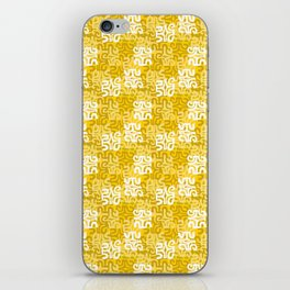 Swanky Mo Yellow iPhone Skin
