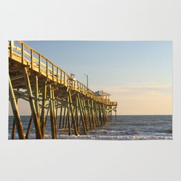 Into the Sea, Fishing Pier and Ocean Rug