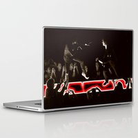 concert Laptop & iPad Skins featuring Concert Battle by John Mark