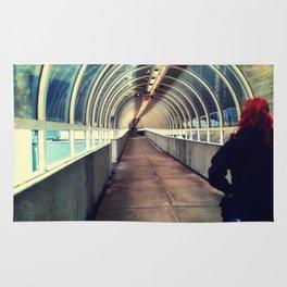Onward Into The Tunnel Forbidden  Rug