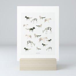 Paper Animals Mini Art Print