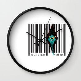 Code monsters Wall Clock