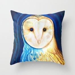 Owl of Arcturus Throw Pillow