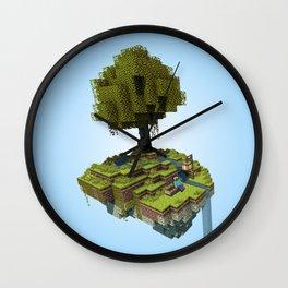 Tree Rest Wall Clock