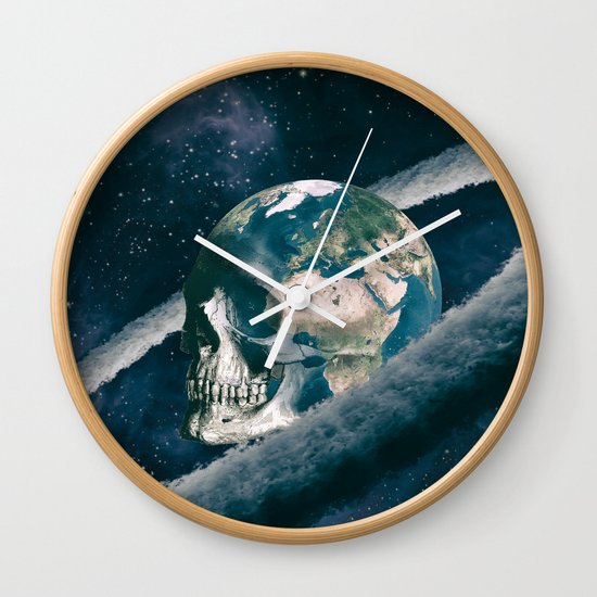 The Old Traveller Wall Clock