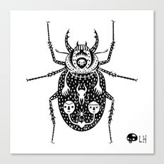 Diaboli Scarabæus - The Devil's Beetle Canvas Print
