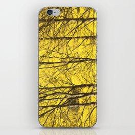 Trees against rape iPhone Skin