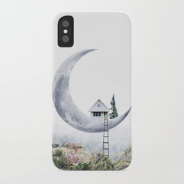 Moon House iPhone Case