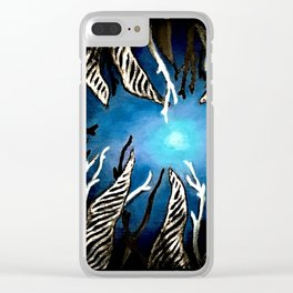 Night at Sea Clear iPhone Case